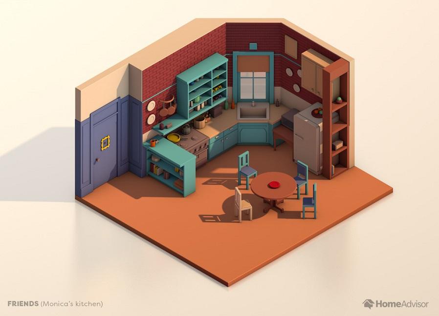 Friends-kitchen