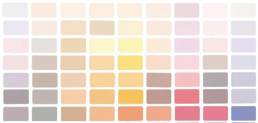 colour shades chart