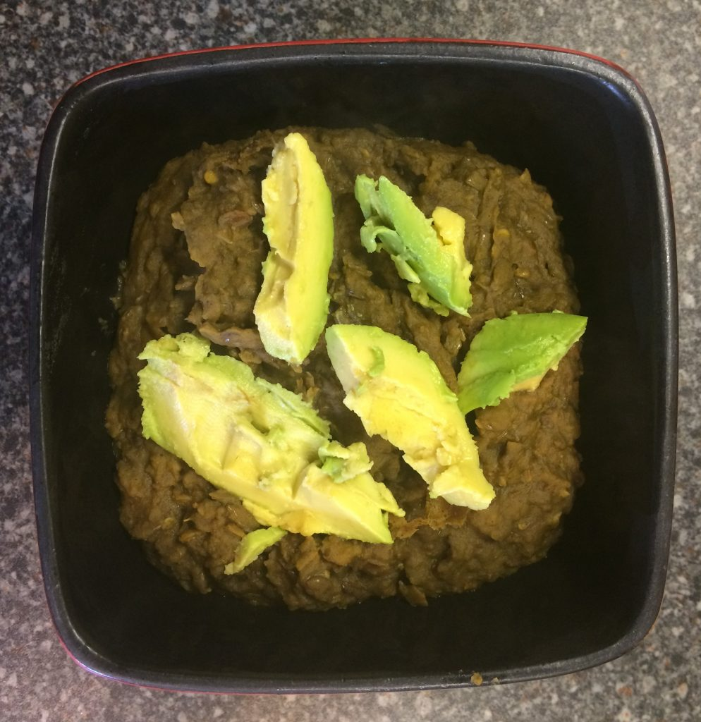 coconut and lentil dahl