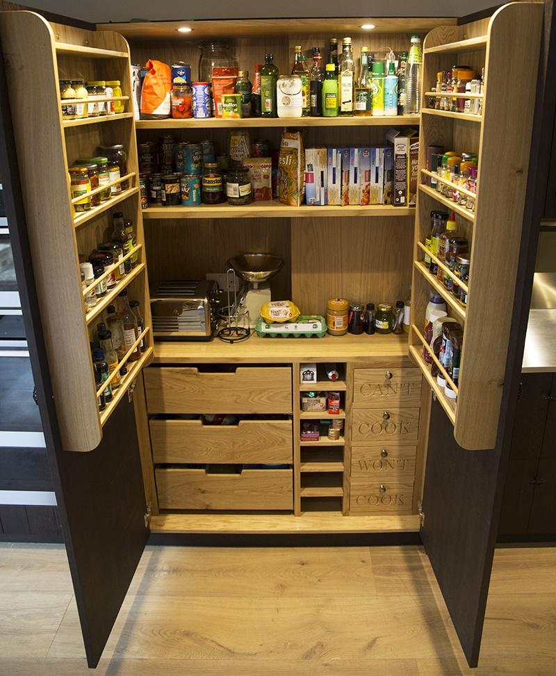 hidden pantry