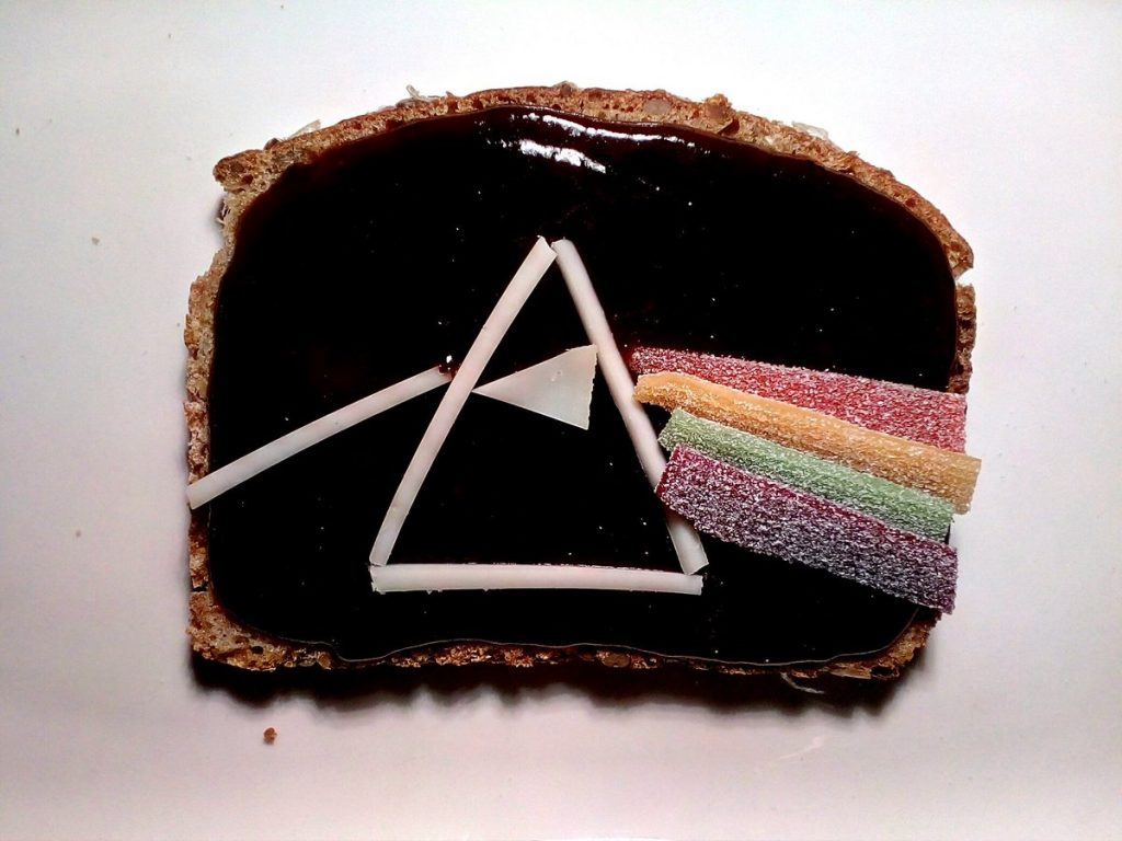 pink floyd album as a sandwich